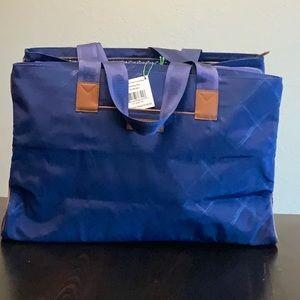 Preppy Poly Triple Compartment Bag : Evening Sky